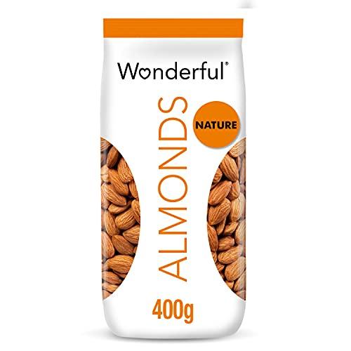 Wonderful Pistachios & Almonds Sachet Amandes Natures 400 G S230074