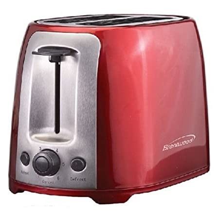 2 Slice Cool Touch Toaster - Red