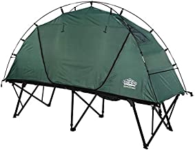 Kamp-Rite CTC XL Compact Light Collapsible Backpacking Camping Tent Cot, Green