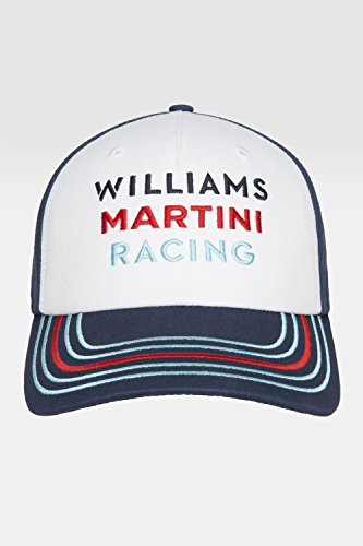 Martini Williams F1 Racing Team Replica CAP Formula 1 Blue Valtteri Bottas, Felipe Massa