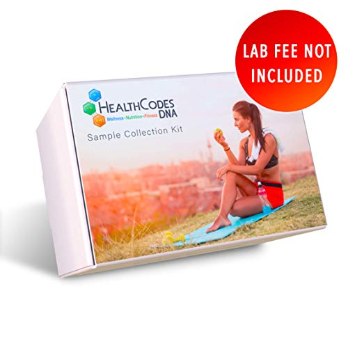 Learn More About HealthCodes DNA® - Premium DNA Kit for Health, Nutrition, Fitness - Lab Fee Not In...
