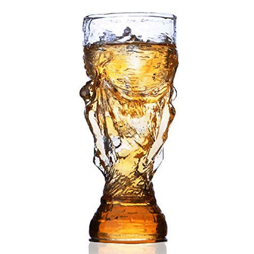 Creative Football World Cup Taza Creativa Cerveza Copa de Cerveza Glassware Webware Home Living Gadgets Fashion Gifts 350ml,300ml