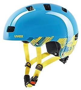 Uvex Unisex Jugend, kid 3 Fahrradhelm, blackout blue, 55-58 cm