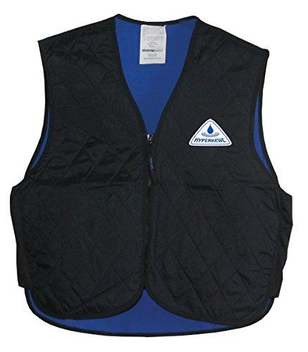 Best Bargain HyperKewl Evaporative Cooling Sport Vest, Black, X-Small