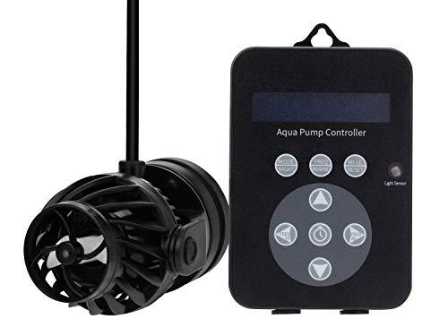 CORAL BOX QPS-9 Plus Pompa Silenziosa Wave Maker 9000 litri 23W Powerhead per acquario Wavemaker