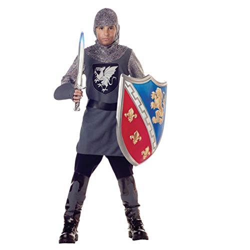 Kid's Valiant Knight Costume - L