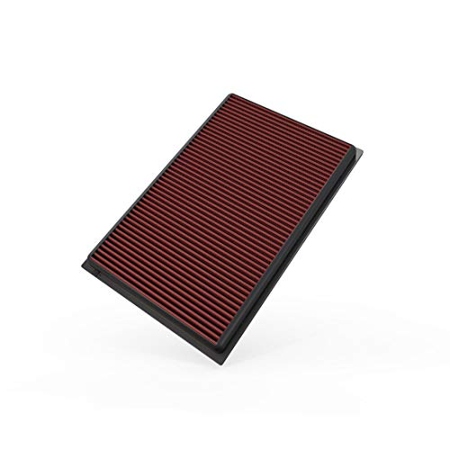 K&N Engine Air Filter: High Performance, Premium, Washable, Replacement Filter: 2003-2018 Audi/Volkswagen (Q3, TT Quattro, TT RS, TT S, A3, RS3, Passat, CC, Magotan, Eos, Golf V), 33-2384