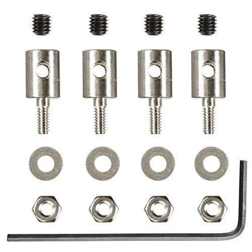 Gestängeanschluss 2 mm Servoanschluss 4 STK partCore