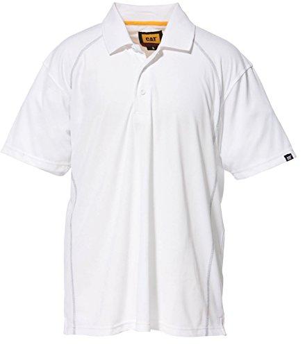 Caterpillar - T-shirt - Homme blanc Weiß xxl