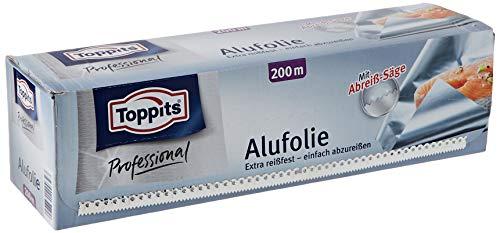 Toppits Alufolie 200 m, 1er Pack (1 x 1 Stück)