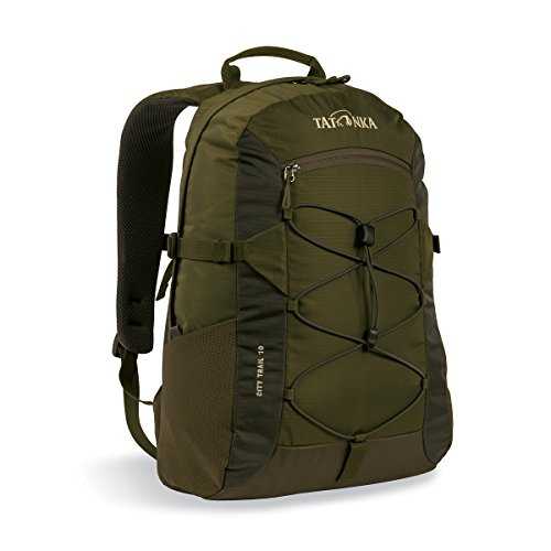 Tatonka City Trail 19 Rucksack, Olive, 43 x 28 x 14 cm