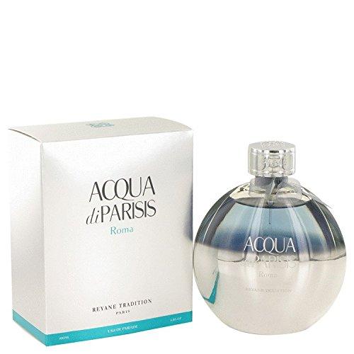 Acqua Di parisis Roma par Reyane Tradition, eau de parfum en flacon vaporisateur 100 ml
