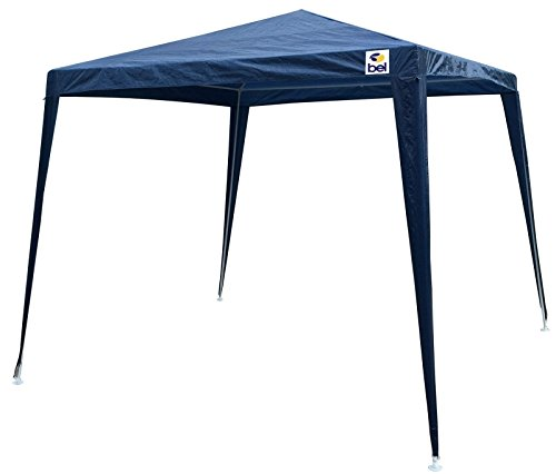 Tenda Gazebo Polietileno Bel Fix Azul 3 x 3 m