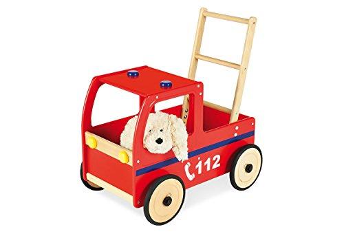 Pinolino 262677 - Lauflernwagen Feuerwehrauto Klaus