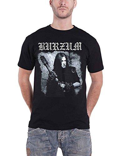 Burzum T Shirt Anthology 2018 Album Cover Band Logo Nuovo Ufficiale Uomo Size L