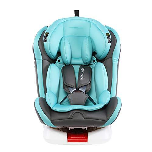 Cómodo asiento para automóvil para niños,interfaz ISOFIX Asiento elevador para niños,arnés seguridad para niños con abrazadera para el cinturón de seguridad,puede sentarse y acostarse-Fixedseat