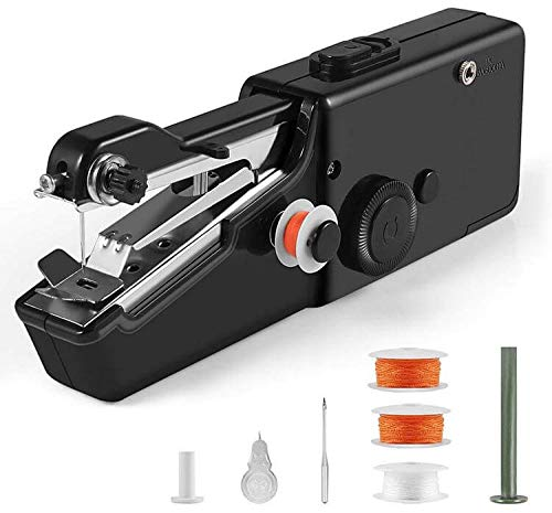 FD Creation FD Sewing Machines for Home Tailoring use,Cordless Handheld Electric Handy Stitch Portable Lightweight DIY Premium Mini Sewing Stitching Machine