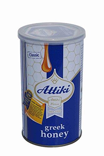 Griechischer Thymianhonig ATTIKI 455 g beliebter Thymian Honig aus Griechenland in Alu Box
