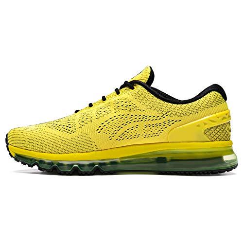ONEMIX Zapatillas Running para Hombre Aire Libre y Deporte Sneakers Transpirables Casual Zapatos Gimnasio Correr
