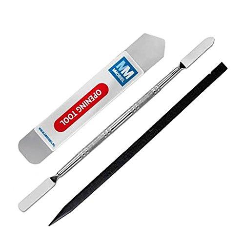 MMOBIEL 3 - teiliges Profi Reparatur Werkzeug Set Toolkit inklusive Spudger Öffnungswerkzeug - hochwertigen Hebelwerkzeug aus Metall und Non-Conductive Nylon Kunststoff Pryer