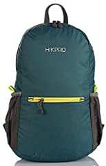 LIGHTWEIGHT & FOLDABLE - Minimalist Designed, Ultra-lightweight, reduced excess shoulder load, backpack itself weight Only 7.5Oz, making your journey relaxing. It also can be easily folded into a small sandwich size for easy travel. ROOMY - 20L Inter...
