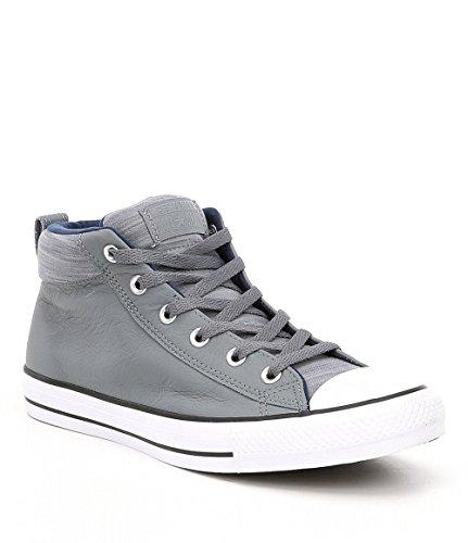 Converse Chuck Taylor All Star Street Mid Adult Unisex Cool Grey/Midnight Navy (10.5 D US)
