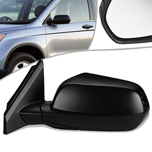 BreaAP Compatible with Honda 07-11 CR-V OE Style Power+Heated Side View Door Mirror Left HO1320239