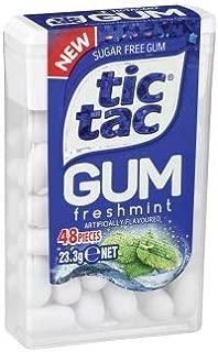 Tic Tac Gum Freshmint 23g x 12