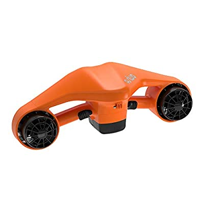 Asiwo Sea Scooter is Powerful, Portable and Lightweight Personal Water Cruiser for All Water Sports Enthusiasts – Diver Propulsion Vehicle Swim Anywhere. (Orange)