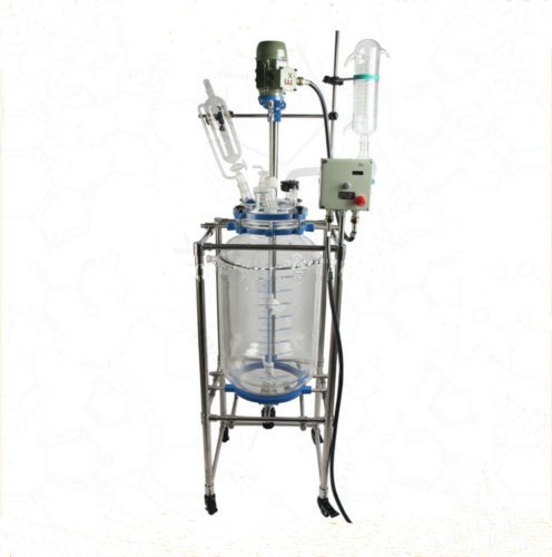Why Should You Buy Kohstar Automatic explosion proof Jacketed Chemical Glass Reactor,100L Glass Reac...
