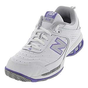 New Balance womens 806 V1 Tennis Shoe, White, 7 Wide US