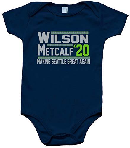 Navy Seattle Wilson Metcalf 2020 Baby 1 Piece