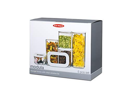 Rosti Mepal Modula - Juego de 5 tarros