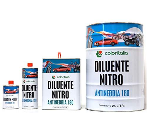 Diluente Nitro 180 ANTINEBBIA uso professionale (5 Litri)