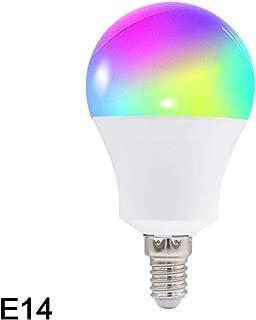 BAIYING Fcmila WiFi Smart Lamp Bulb, 10w Smart Dimmable Colorful Light Bulb Intellegent App Remote Control Work with Alexa/Google Assistant/Siri/Ifttt(E27 /B22 /E26 /E14 /GU10)