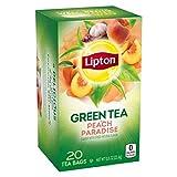 Lipton Peach Paradise Green Tea, Peach, 2 pounds, 6-Pack