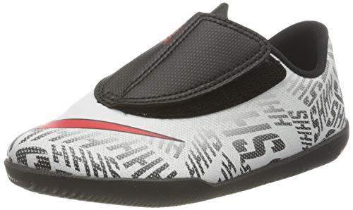 Nike Vapor 12 Club PS (v) Nic, Zapatillas de Fútbol Unisex Niños, Blanco (White/Challenge Red/Black 170), 27 EU