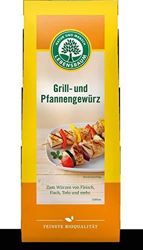 Lebensbaum Bio Grill- und Pfannengewürz (6 x 50 gr)