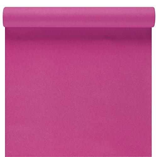 Susy Card 11449568 tafelloper, tafeldecoratie roze, airlaid, 3 m x 40 cm
