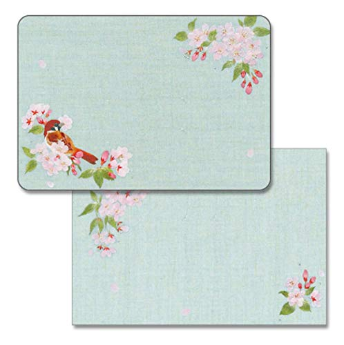春柄 ミニレターセット 桜とすずめ MLS-080 (32) 便箋10枚・封筒10枚 フロンティア (ZR)