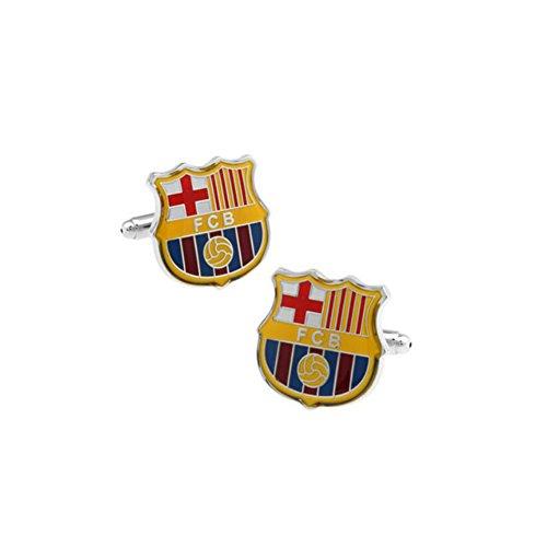 JUMP Hemd Manschettenknopf Herren Damen Kleid Shirt FC Barcelona Knopf Manschette Retro Damen Charms Herren Accessoires Neuheit Manschettenknöpfe