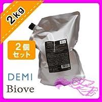 デミ ビオーブ フォーメン スキャルプパックジェル 2000g ×2個セット 業務用 詰め替え用 DEMI BIOVE FOR MEN