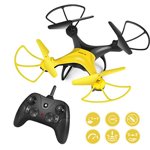 RC Drone, 360-Degree Flip & Rolls Mini RC Helicopter for Kids Adults, 30 Mins Flight Time RC Quadcopter, Easy to Fly Even to Beginners with Altitude Hold, One Key Start/Land, Draw Path, 3D Flips