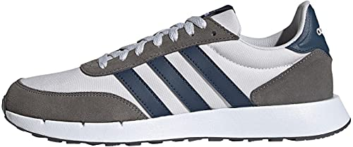 adidas Run 60s 2.0, Scarpe Running Uomo, Grigio, 43 1/3 EU