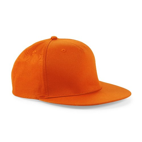 Casquette Hip Hop Snapback Rappeur Orange