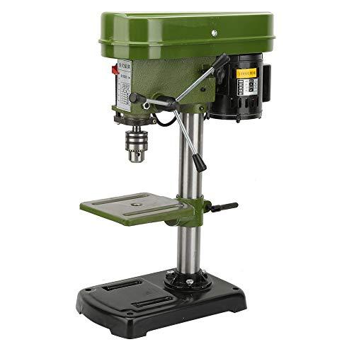 Tischbohrständer, 5-Gang-/50-mm-Bohrtiefe/350-W-Miniatur-Tischbohrmaschine, Kompaktbohrmaschine, geräuscharm, verstellbar(EU)