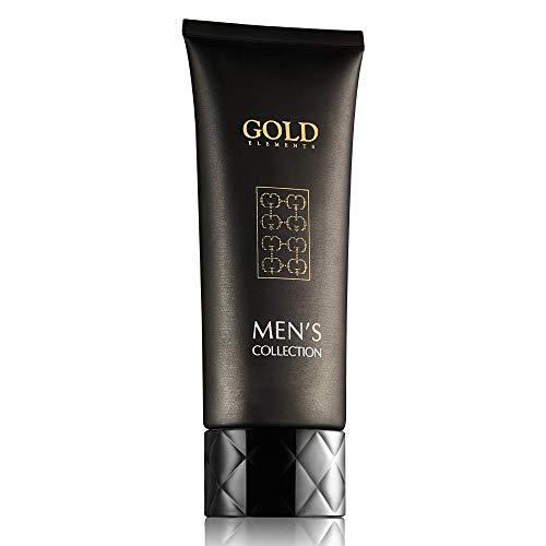 GOLD ELEMENTS 24K MULTI ACTION CRÈME POUR HOMMES, HYPOALLERGÈNES, Donne de l'humidité, nourrit la peau, convient à tous les types de peau, riche en minéraux et en vitamines, adoucit la peau. 50 ml.