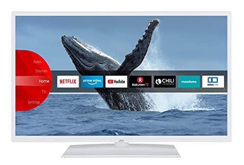 JVC LT-32VF5155W 32 Zoll Fernseher / Smart TV (Full HD, HDR, Triple-Tuner, Bluetooth) - 6 Monate HD+ inklusive