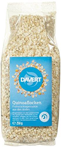 Davert Quinoaflocken, 3er Pack (3 x 250 g)