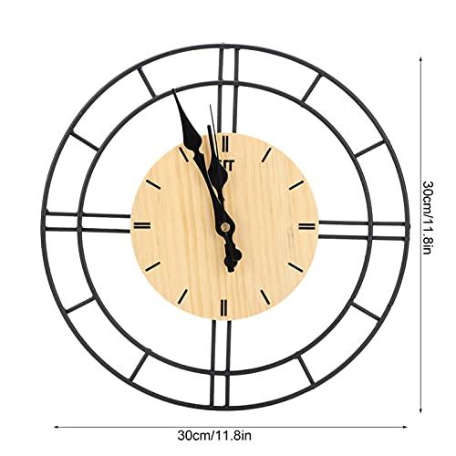 minifinker Reloj para el hogar, Hermoso Reloj de Apariencia para Estudio para Sala de Estar para Pasillo para Oficina